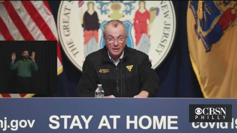 New Jersey Gov. Phil Murphy is planning a noon briefing to outline